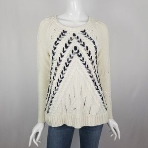 Anthropologie Knitted & Knotted Knit Sweater
